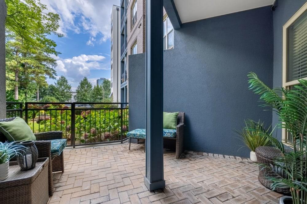 patio at Marq Eight in Atlanta, Georgia