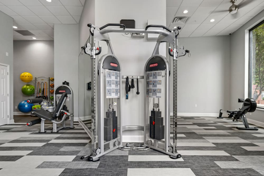 fitness center at Marq on Ponce in Atlanta, Georgia