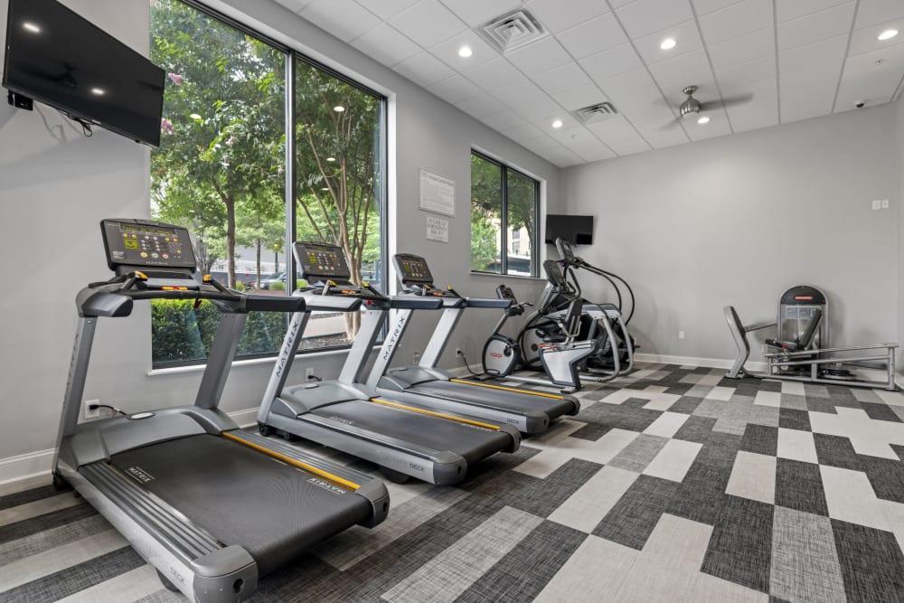 treadmills at Marq on Ponce in Atlanta, Georgia