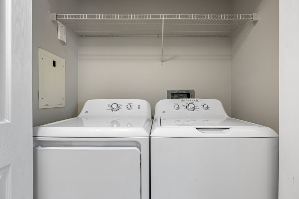 washer and dryer at Marq on Ponce in Atlanta, Georgia