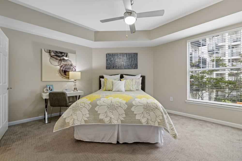 spacious bedroom at Marq on Ponce in Atlanta, Georgia