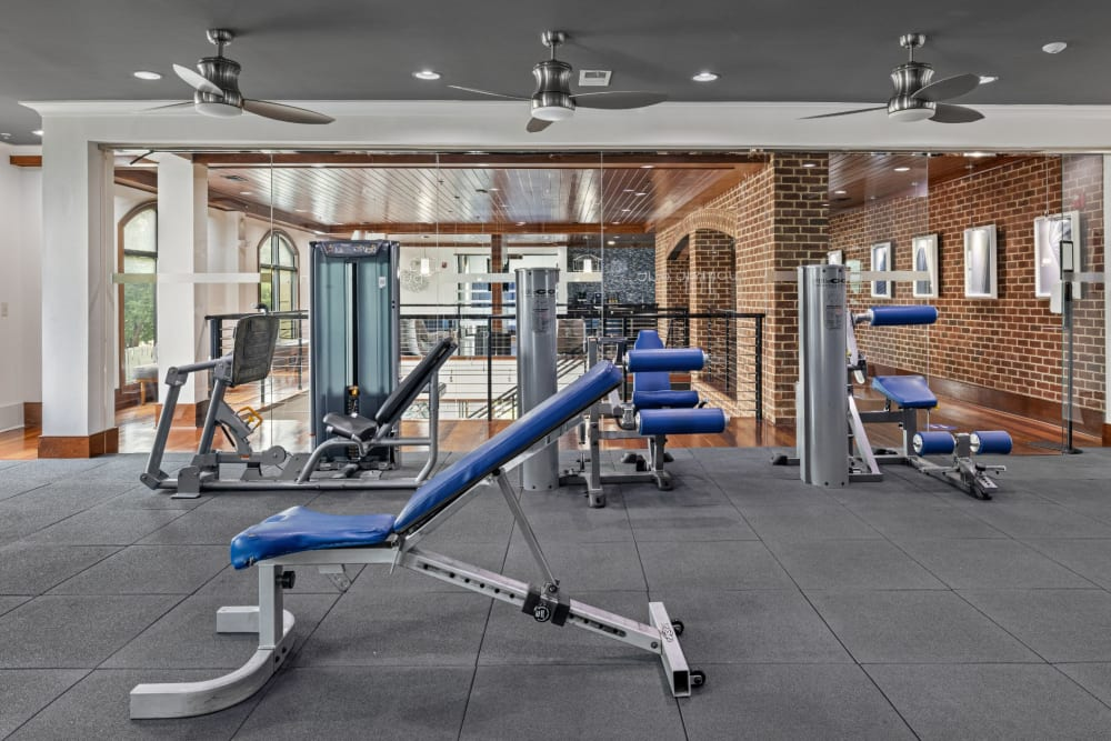 fitness center at Marquis Midtown District in Atlanta, Georgia