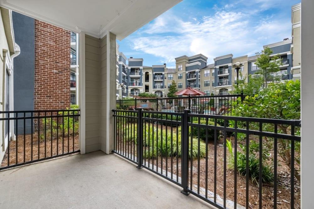 patio at Marquis Midtown District in Atlanta, Georgia