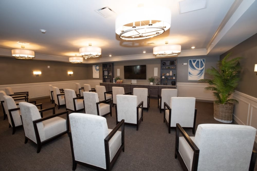 movie theater at The Village at Orchard Grove in Romeo, Michigan