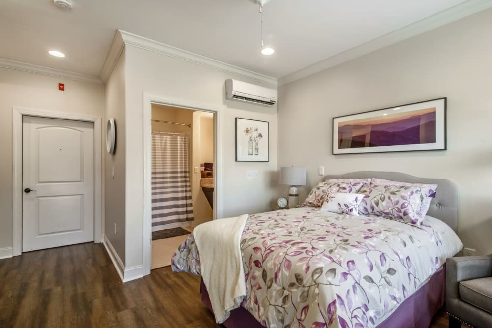 spacious bedroom at Truewood by Merrill, Knoxville in Knoxville, Tennessee