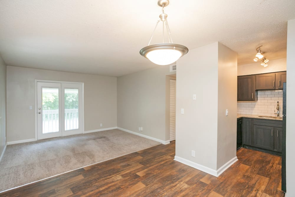 Spacious, open floor plans at Magnolia Place Apartments in Franklin, Tennessee