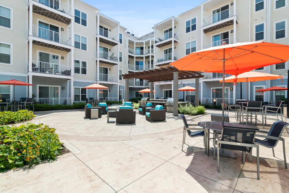 Enjoy the warm weather at The Mark Parsippany in Parsippany, New Jersey