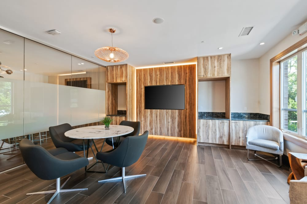 Beautiful lounges at The Mark Parsippany in Parsippany, New Jersey