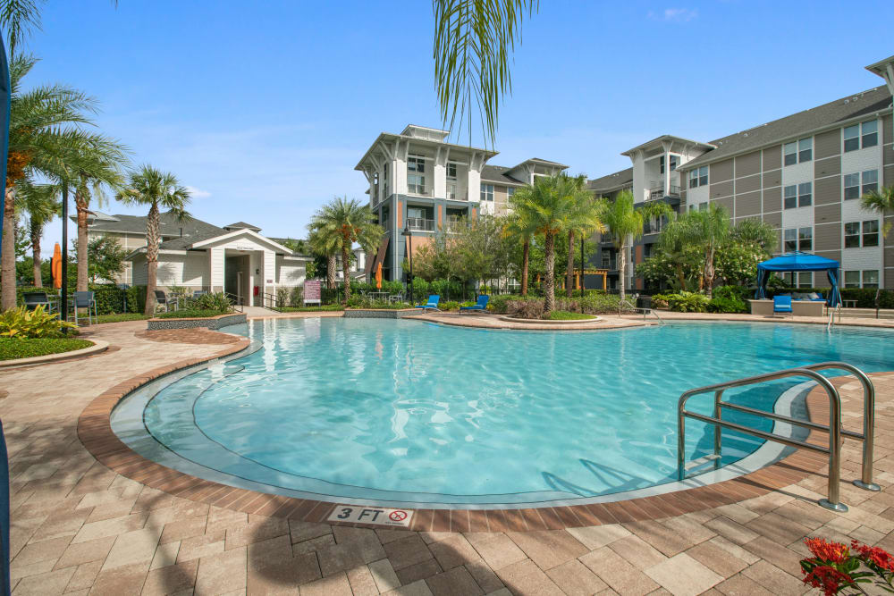 Enjoy the pool at Linden Crossroads in Orlando, Florida