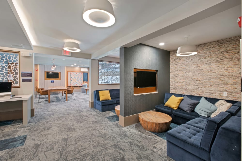 Sit and relax in the lounge at Linden Crossroads in Orlando, Florida