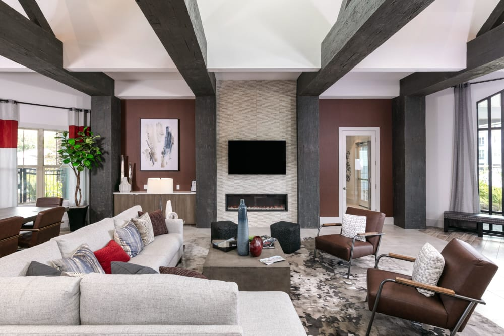 Resident clubhouse at Integra 289 Exchange in DeBary, Florida