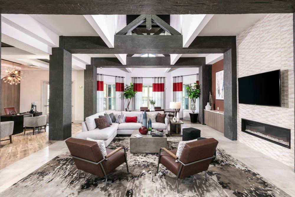 Resident lounge at Integra 289 Exchange in DeBary, Florida