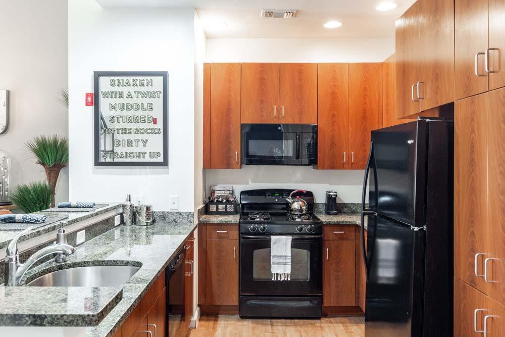 kitchen at Bradlee Danvers in Danvers, Massachusetts