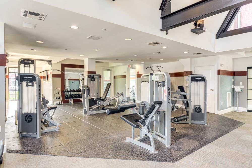 weight machines at Bradlee Danvers in Danvers, Massachusetts