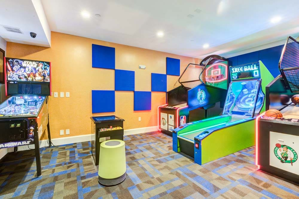 arcade at Bradlee Danvers in Danvers, Massachusetts