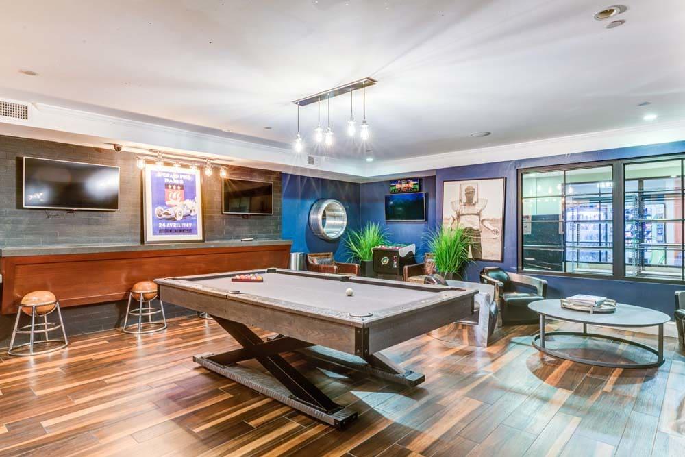 modern clubhouse at Bradlee Danvers in Danvers, Massachusetts
