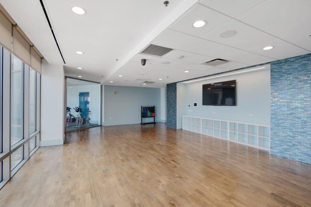 Yoga area at Skyline New Rochelle in New Rochelle, New York