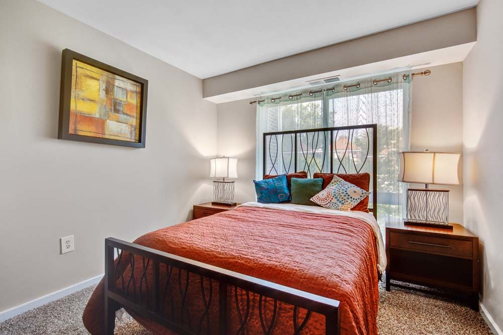 A bedroom at Westchester West Silver Spring, MD