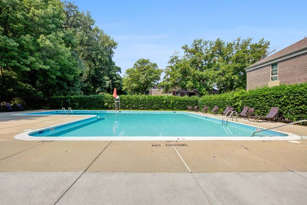 The pool at Westchester West Silver Spring, MD