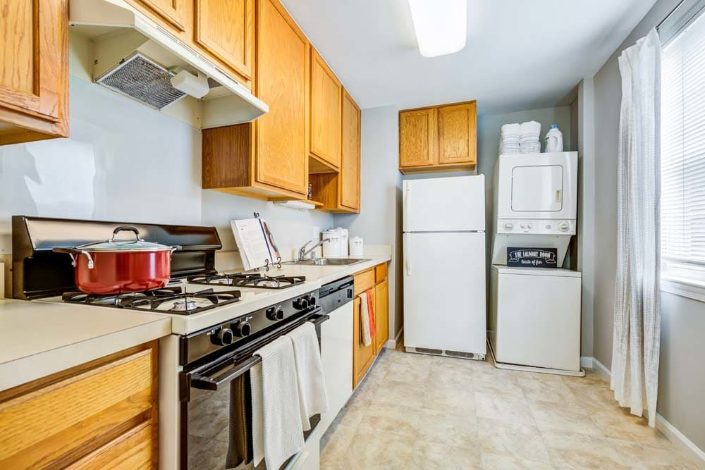 Top quality appliances at Howard Crossing in Ellicott City, Maryland