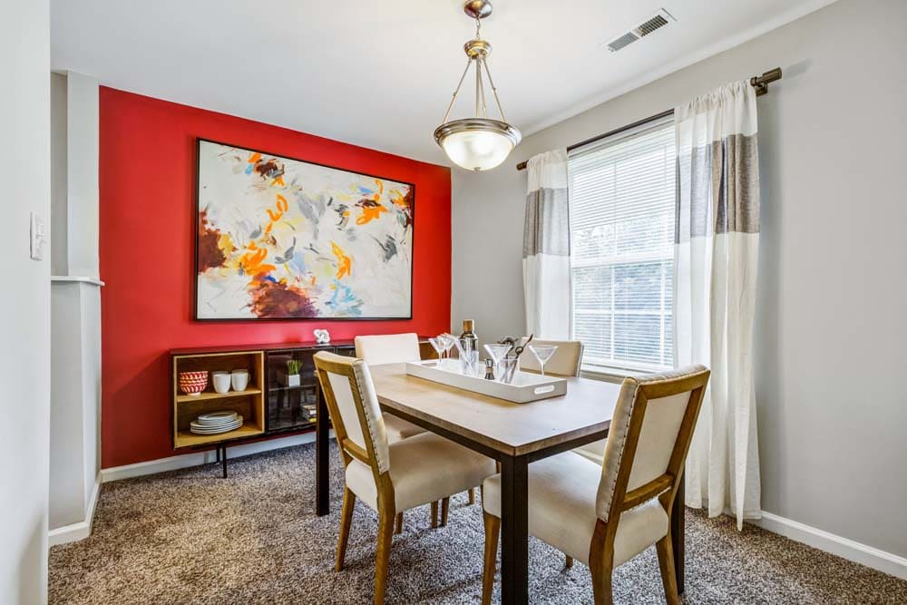 Beautiful rooms at Howard Crossing in Ellicott City, Maryland