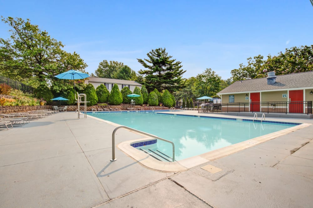 Pool at The Hamptons at Town Center in Germantown, Maryland