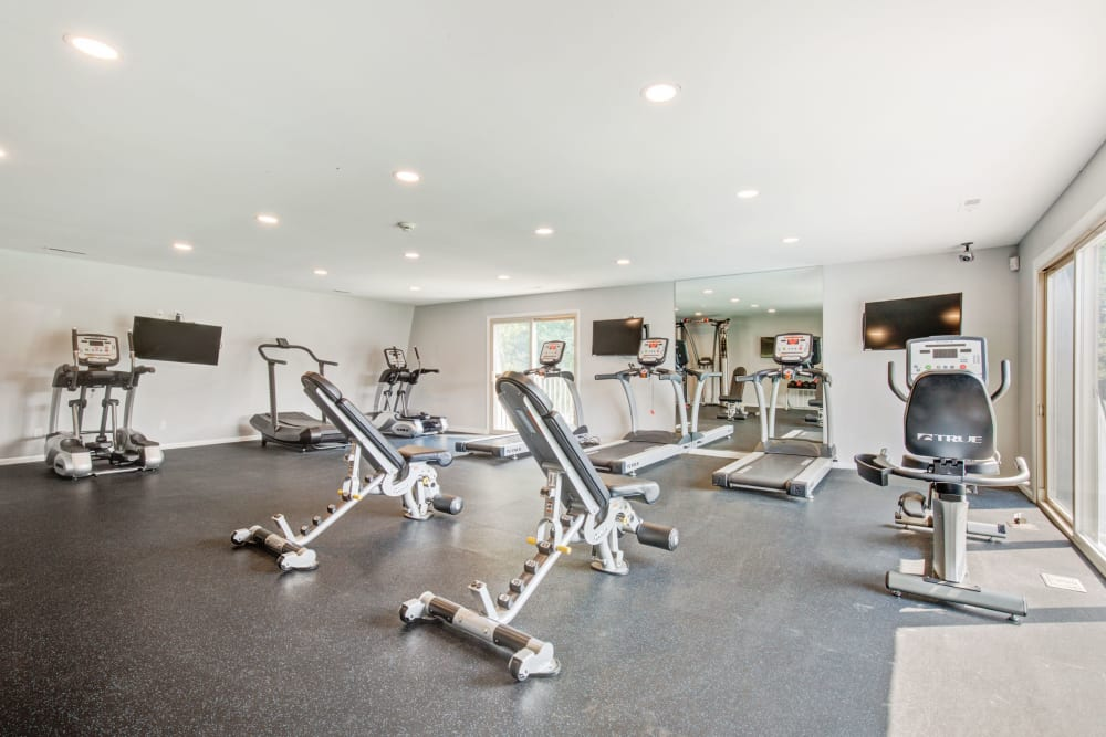 Fitness Center at Country Village Apartments in Bel Air, Maryland