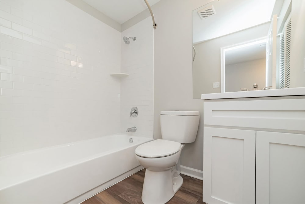 Bathroom at Beacon Pointe Apartments & Townhomes in Sparrows Point, Maryland