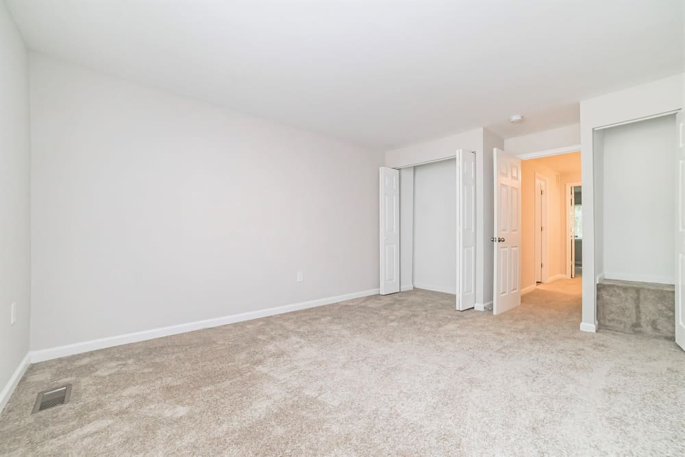 Bedroom at Beacon Pointe Apartments & Townhomes in Sparrows Point, Maryland