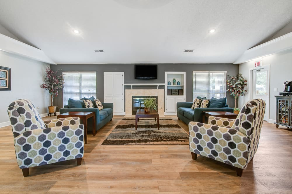 A spacious clubhouse at Cedar Ridge in La Vergne, Tennessee