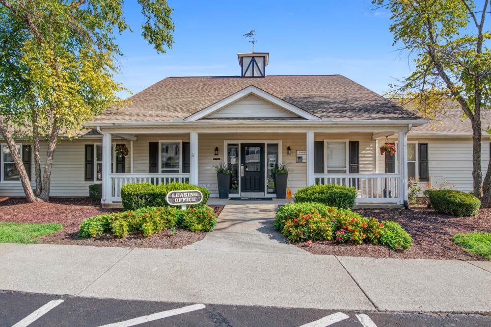 A beautifully manicured property at Cedar Ridge in La Vergne, Tennessee