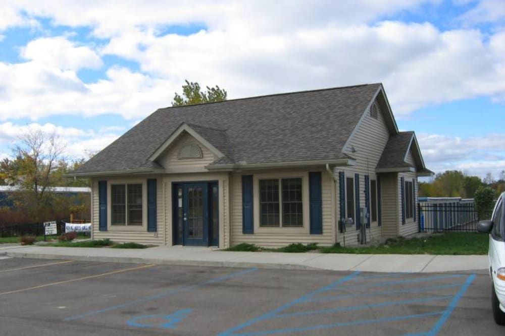 The leasing office at Better Storage Fenton Road In Grand Blanc
