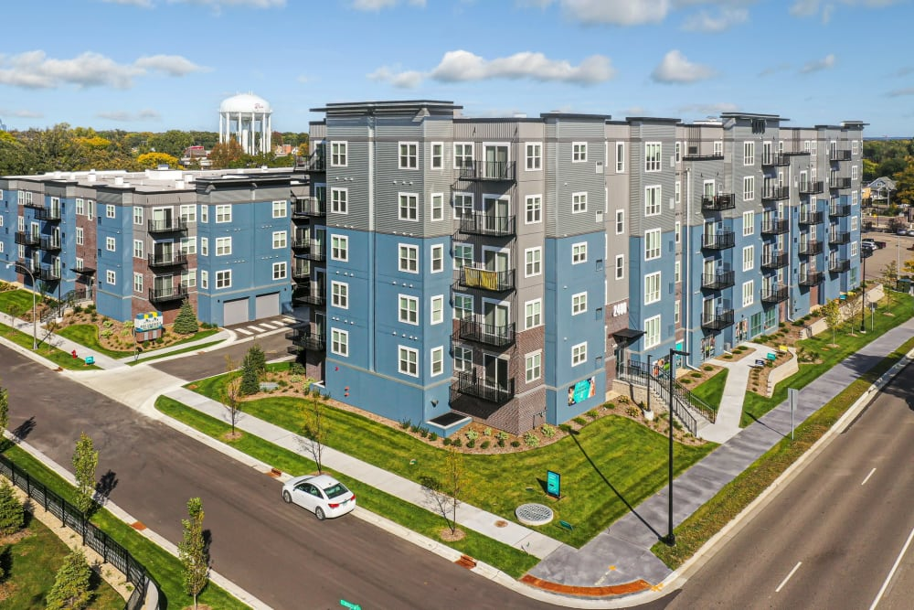 New building at Novo Apartments in Richfield, Minnesota