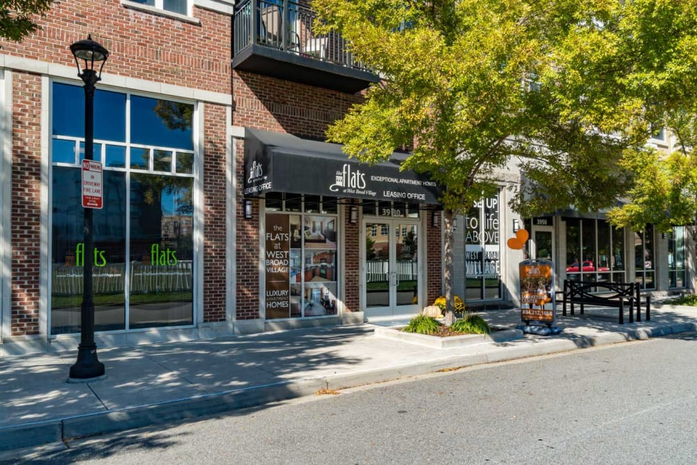 Neighborhood shops that are close to the property at The Flats at West Broad Village in Glen Allen, VA