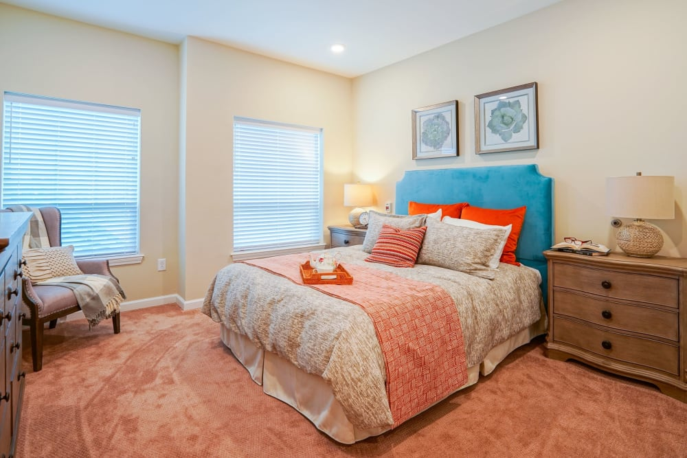 Bedroom The Harmony Collection at Hanover in Mechanicsville, Virginia