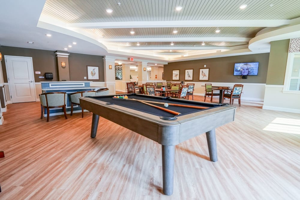 Pub and billiards The Harmony Collection at Hanover in Mechanicsville, Virginia