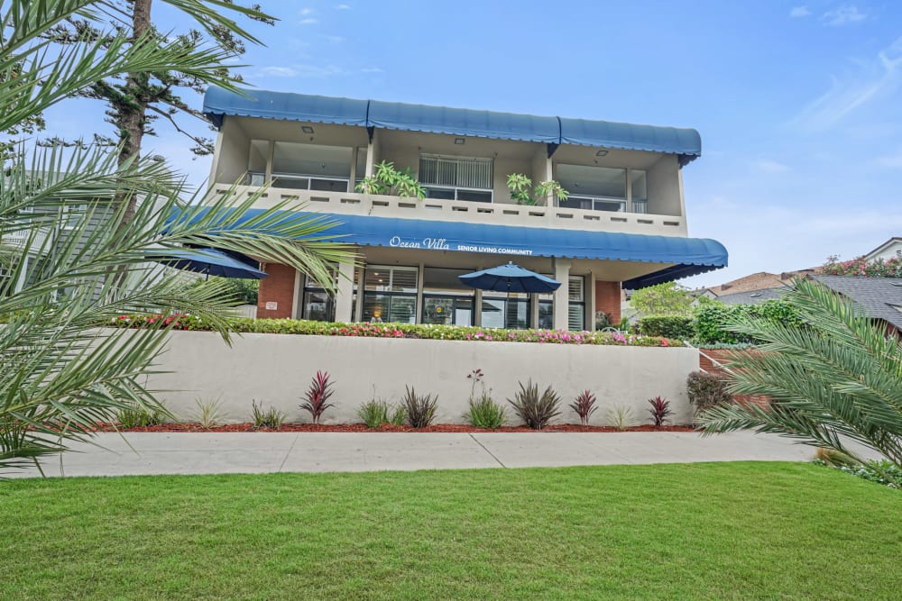 Exterior view of Meridian at Ocean Villa & Bella Mar in Santa Monica, California