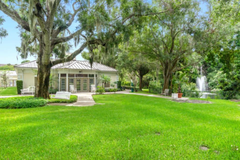 Lush lawn at Truewood by Merrill, Bradenton in Bradenton, Florida
