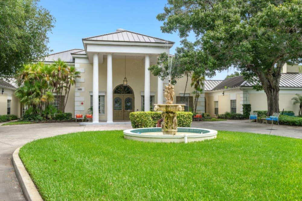 Main entrance at Truewood by Merrill, Bradenton in Bradenton, Florida