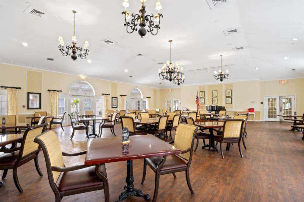 Large dining area at Truewood by Merrill, Bradenton in Bradenton, Florida