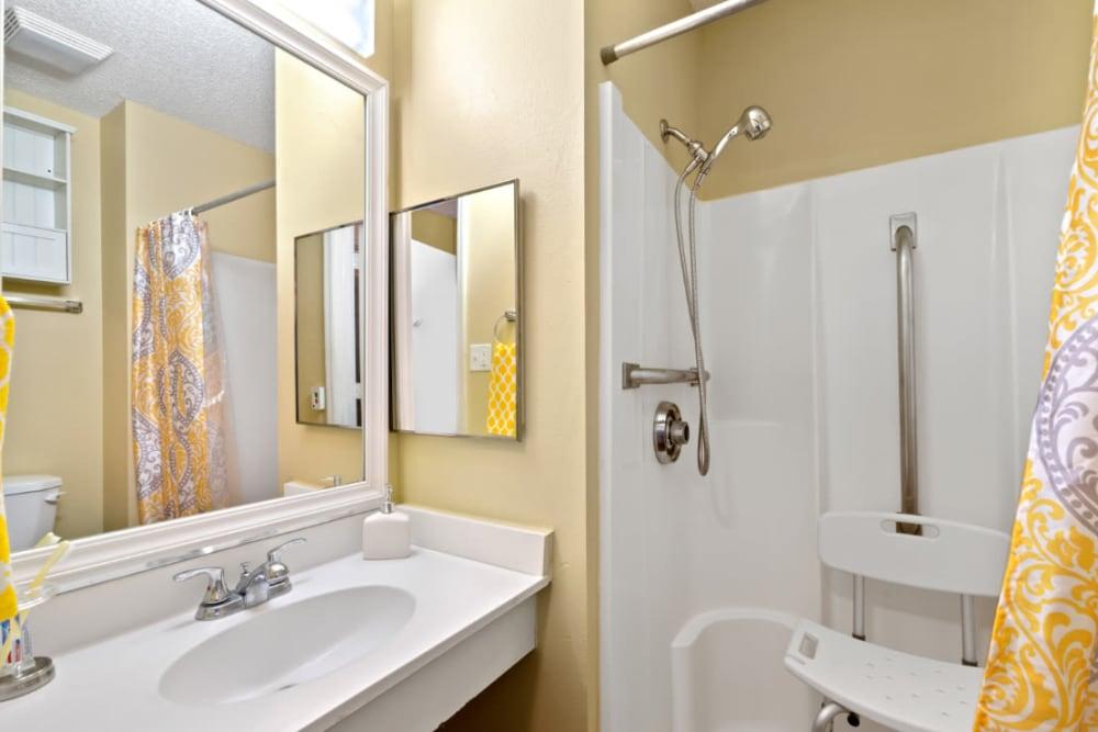 Bathroom at Truewood by Merrill, Bradenton in Bradenton, Florida