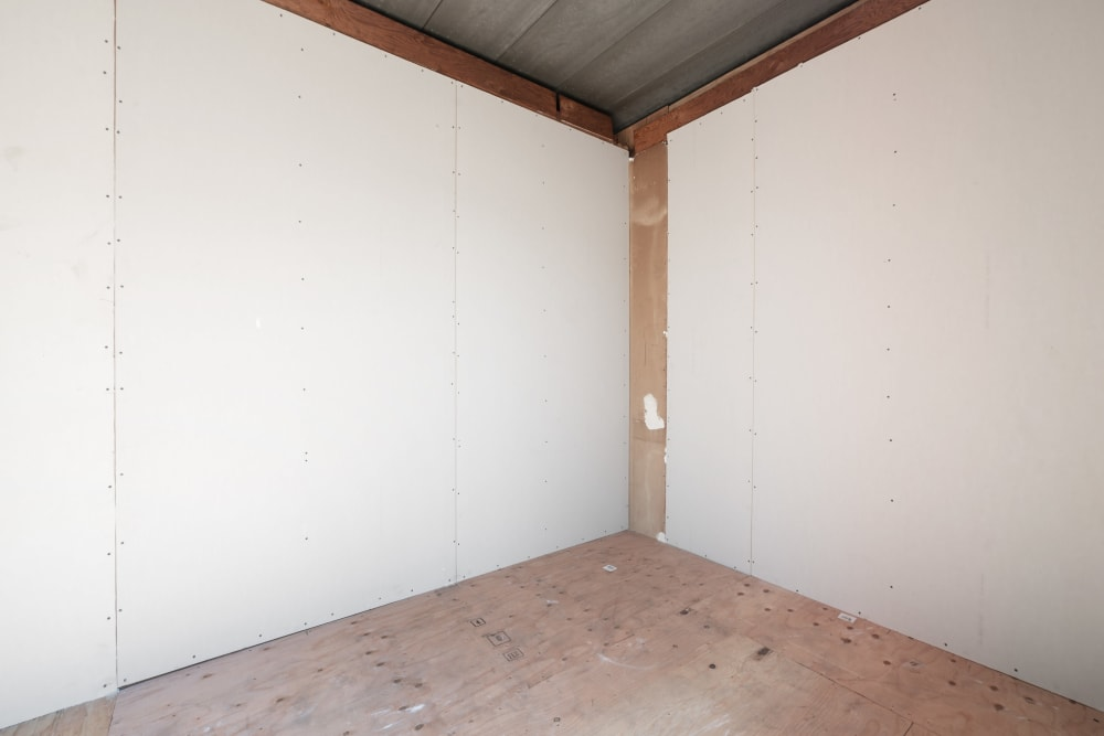 Inside of storage unit at Storage Etc... Carson in Carson, CA