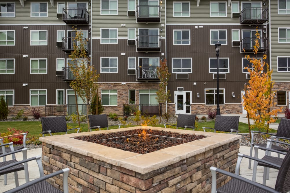 Affinity at Bellingham resident fire pit