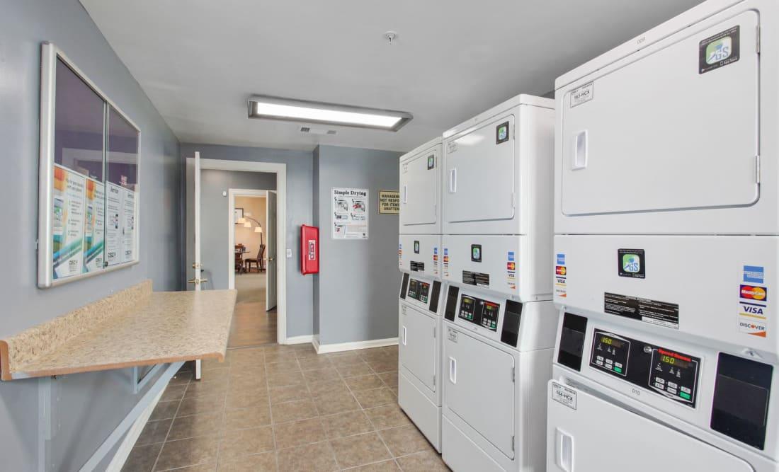 Laundry facility at Wellington Point in Atlanta, Georgia