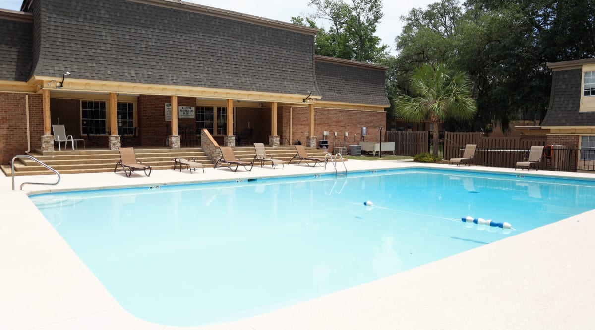Swimming pool at Westwood Apartments in Albany, Georgia