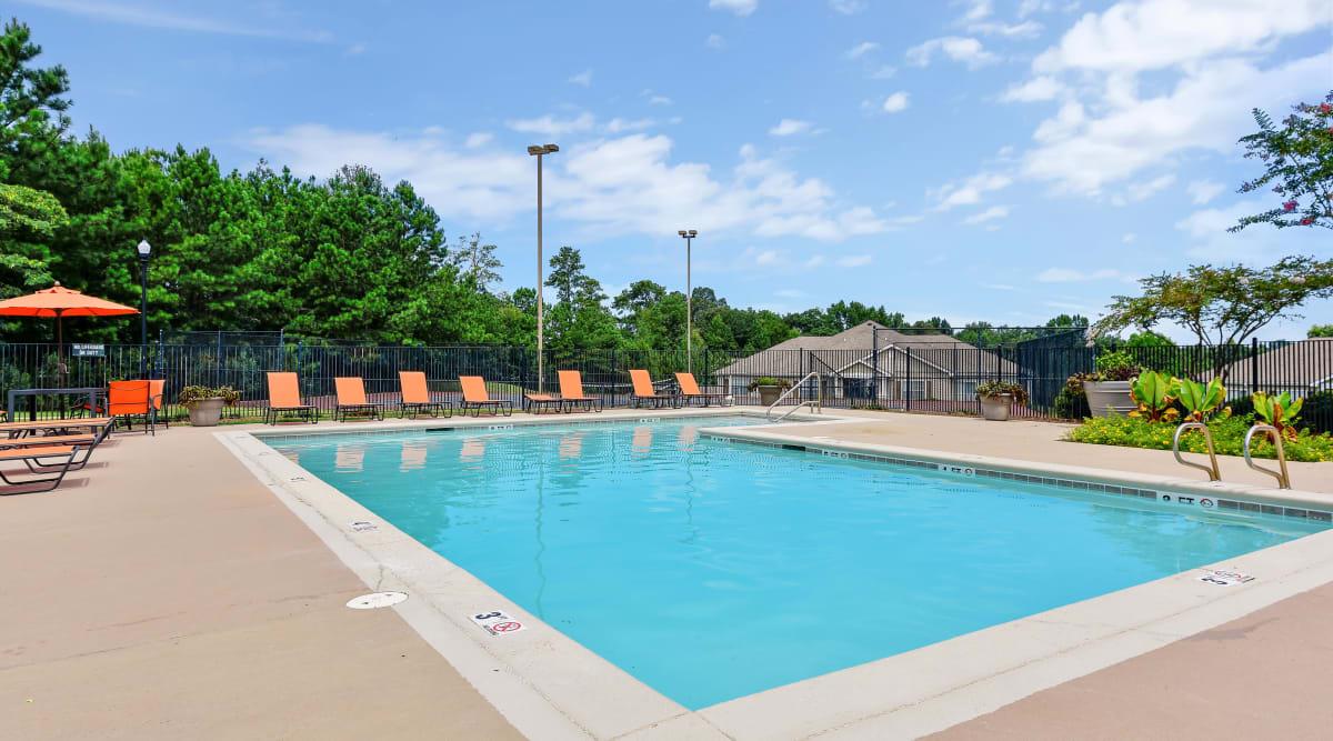 Hunter's Run's swimming pool in Macon, Georgia