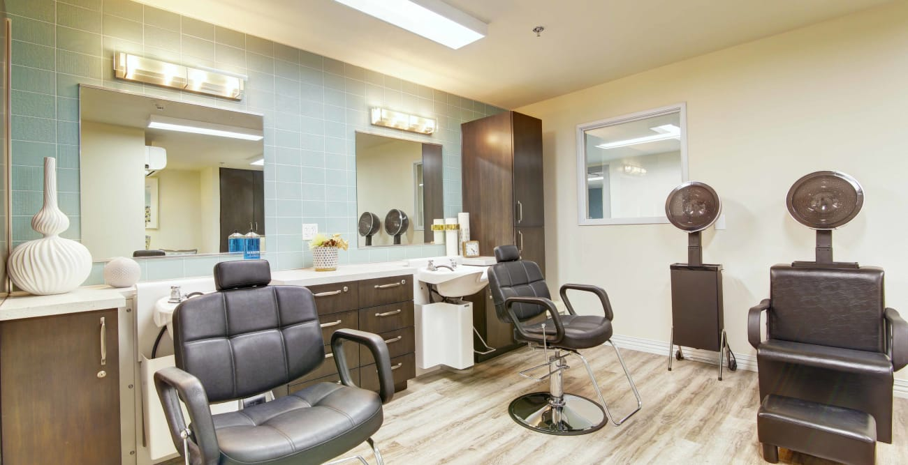 salon at Fairview Commons in Costa Mesa, California
