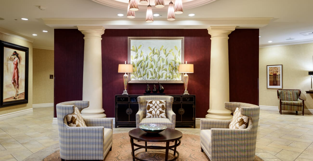 Lounge at The Bellettini in Bellevue, WA