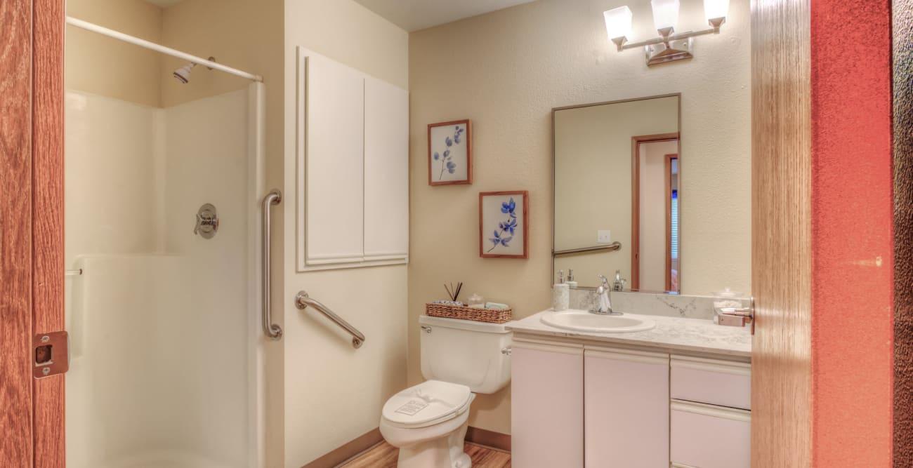 Bathroom at Northgate Plaza in Seattle, Washington