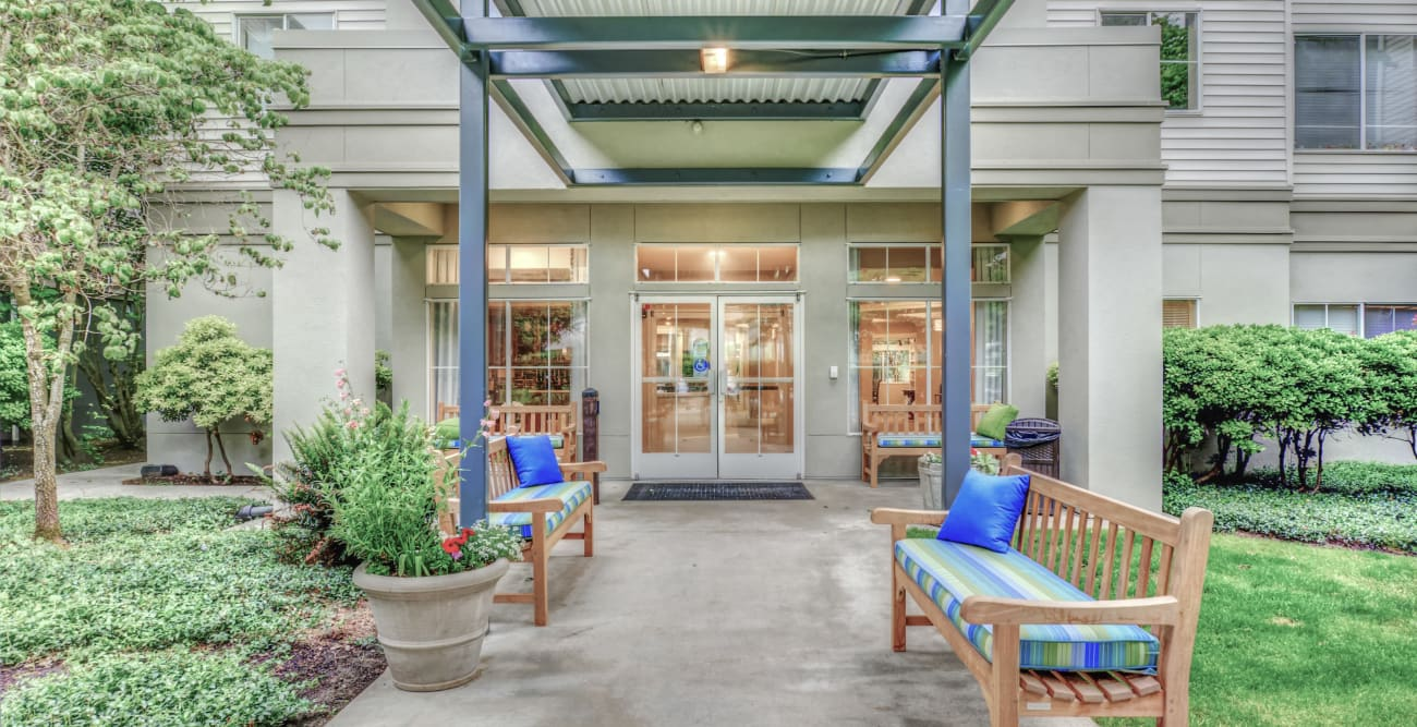 Entrance at Northgate Plaza in Seattle, Washington